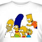 """Футболка """"Famili Simpson -2"""""""