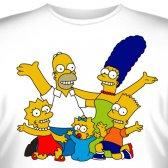 """Футболка """"Famili Simpson -4"""""""