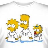 """Футболка """"Famili Simpson -5"""""""