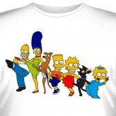 """Футболка """"Famili Simpson -6"""""""