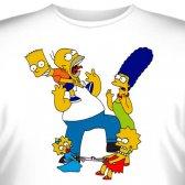 """Футболка """"Famili Simpson -7"""""""