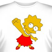 """Футболка """"Lisa Simpson -3"""""""
