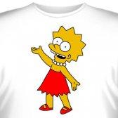 """Футболка """"Lisa Simpson -1"""""""