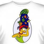 """Футболка """"Marge Simpson -1"""""""