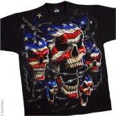 """Футболка """"Patriotic Skulls"""" (США)"""