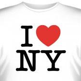 """Футболка """"I love New York"""""""