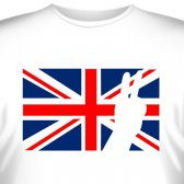 "Футболка ""Британский флаг 2"""