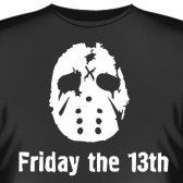 """Футболка """"Friday the 13th (Пятница 13-е)"""""""