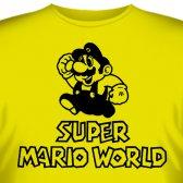 """Футболка """"Super Mario World (Мир Супер Марио)"""""""
