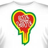 "Футболка ""One Love"""