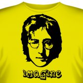 "Футболка ""Imagine John Lennon (Джон Леннон)"""