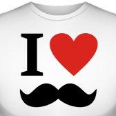 """Футболка """"I Like mustache (Мне нравятся усы)"""""""