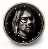 "Часы настенные ""Nirvana - Kurt Cobain"" (1)"