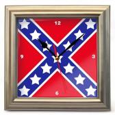 """Часы настенные """"Флаг Конфедерации (2)"""""""