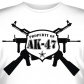 "Футболка ""Property of AK-47"""