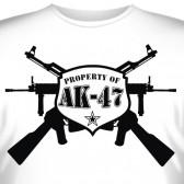 """Футболка """"Property of AK-47"""""""