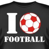 "Футболка ""I love football"""