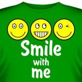 """Футболка """"Smile with me"""""""