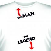 "Футболка ""The man - The legend"""