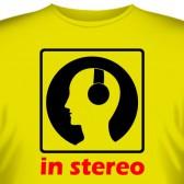 "Футболка ""In stereo"""