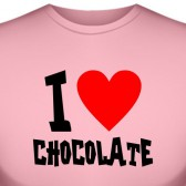 "Футболка ""I love chocolate"""