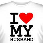 """Футболка """"I love my husband"""""""