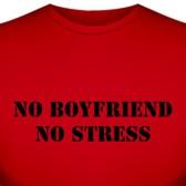 "Футболка ""No boyfriend"""