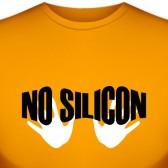 """Футболка """"No silicon"""""""