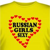 "Футболка ""Russian Girls Sexy"""