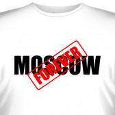 """Футболка """"Москва навсегда"""""""