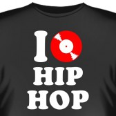 "Футболка ""I love HIP HOP"""