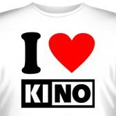 """Футболка """"I love KINO"""""""