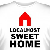 "Футболка ""Localhost sweet home"""