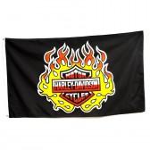 """Флаг """"Harley-Davidson"""""""