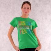 "Футболка женская ""Disco Music Fever"" (Green)"