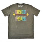 """Футболка """"Disco Music Fever"""" (grey)"""