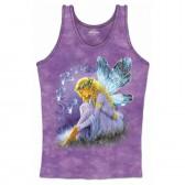 "Женская подростковая майка-топ ""Purple Winged Fairy"" (США)"