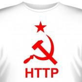 """Футболка """"HTTP - СССР"""""""