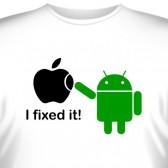 "Футболка ""Android - I fixed it!"""