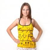 "Топик женский ""Famous Magnat"" (yellow)"
