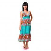 Сарафан длинный, летний (ir-turquoise)