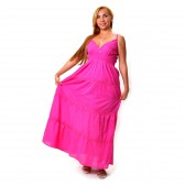 Сарафан длинный, летний (ib-pink)