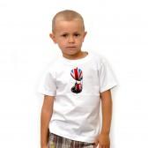 """Футболка детская """"Очки Британский Флаг"""""""