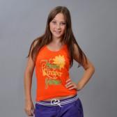 "Топ женский ""Firework"" (orange)"