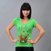 "Футболка женская ""Vintage Sity"" (green)"