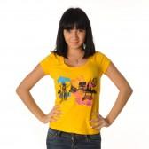 "Футболка женская ""Urban"" (yellow)"