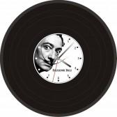 """Часы-пластинка настенные """"Salvador Dali"""""""