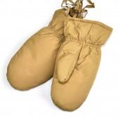 Варежки детские ПУХОВЫЕ, непромокаемые (beige)