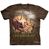 "Футболка The Mountain ""I Dig Dinosaurs"" (детская)"