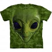 """Футболка The Mountain """"Green Alien Face"""" (детская)"""